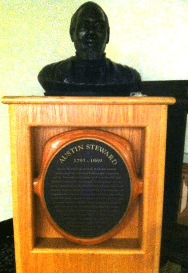 bust of steward