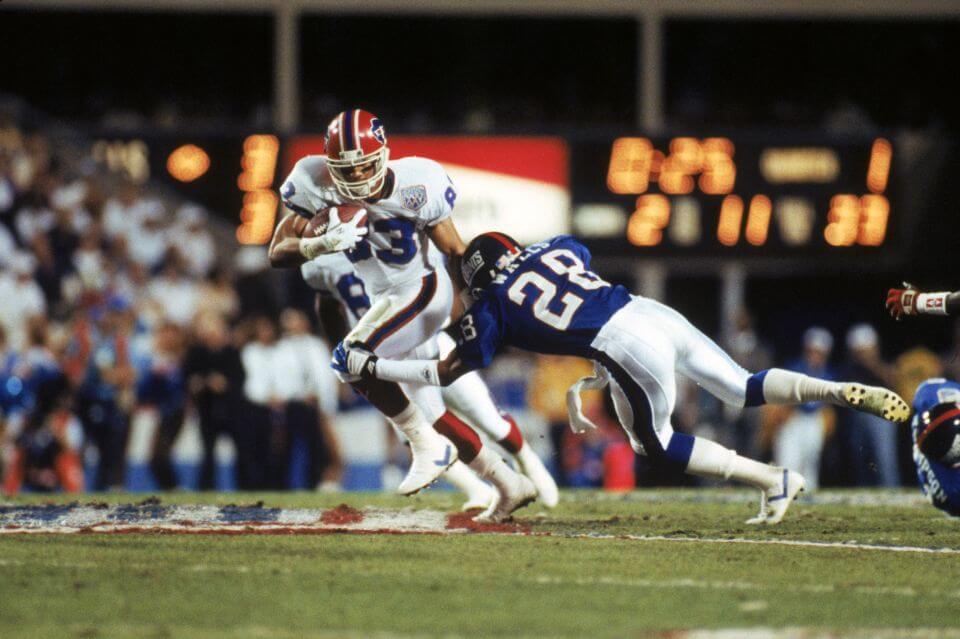 Wide receiver Andre Reed #83 of the Buffalo (Newsday)