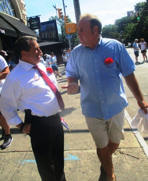 Joe Morelle (left) and Joe Robach