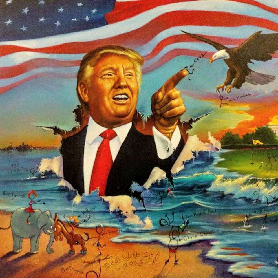 Trump's New Colossus – Talker of the Town